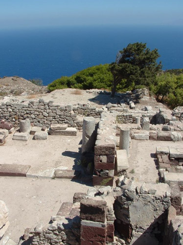 day tours in santorini - ancient thira