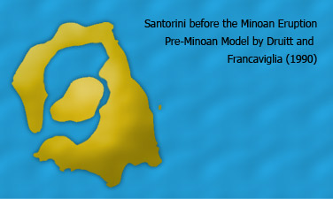 Santorini before Minoan eruption