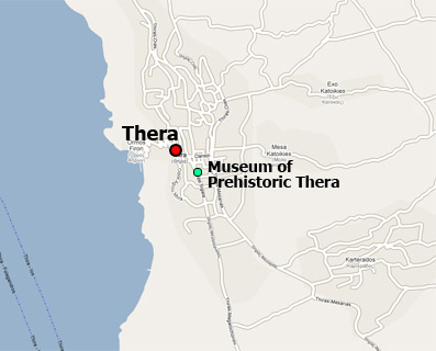 Museum of Prehistoric Thera map location