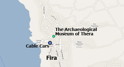 Archaeological Museum of Thera map location