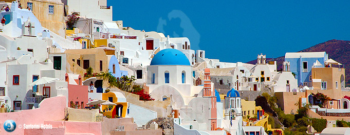 Architecture of Oia