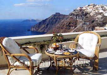 Atlantis Santorini Balcony View