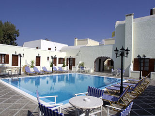Sunrise Hotel Santorini Pool Overview
