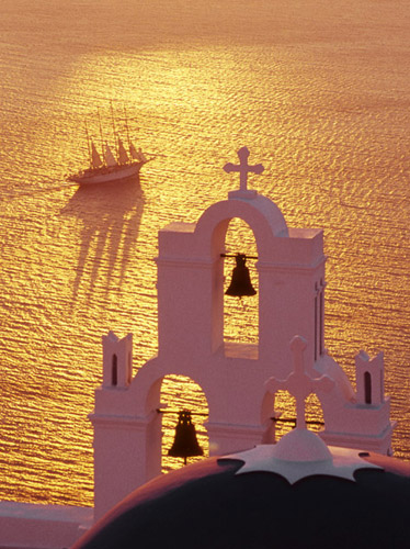 Santorini Sunset cruise and magic night in Caldera