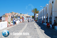 Walking in Fira