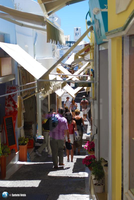 Coffee And Cars >> Walking in Fira, Santorini