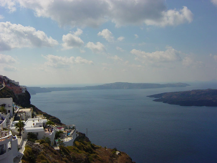 Caldera View from Imerovigli Santorini