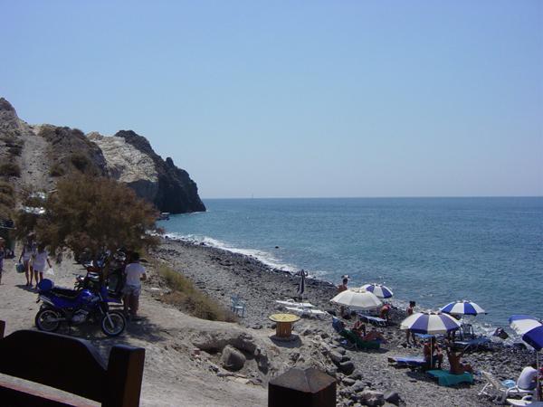 Santorini Akrotiri Beach