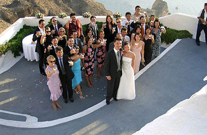 Santorini Wedding Photo - Top Destination Wedding
