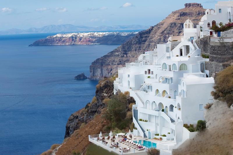 Best Hotels In Fira Greece