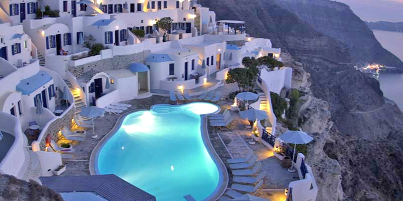 Volcanos View Villas Hotel Santorini Accommodation